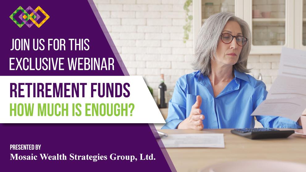 Retirement Funds Webinar